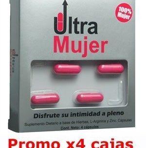 Ultra Mujer Estimulador Femenino - 4 cajas x4