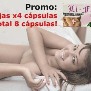 Li Fem Capsulas Femeninas + Vigor - 2 cajas x4
