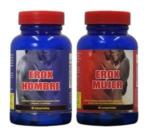 Erox Mujer + Hombre - Capsulas Vigorizantes Sexual