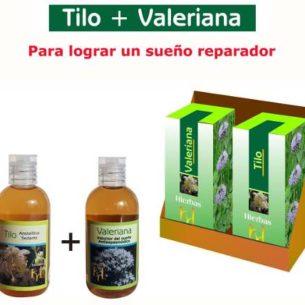 Tilo + Valeriana Dormir Bien Sueño Reparador Fitoterapia