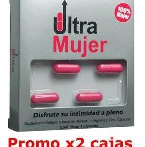 Ultra Mujer Estimulador Femenino - 2 cajas x4