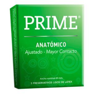 Prime Anatomico - caja x3 preservativos