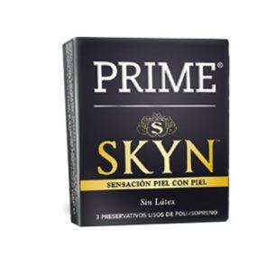 Prime Skin - Sin Latex - Caja x3 - Preservativos