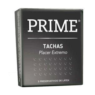 Prime Tachas - Preservativos caja x3